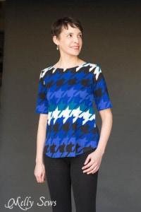 Knit version of Shoreline Boatneck PDF Sewing Pattern by Blank Slate Patterns