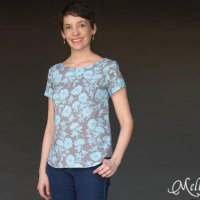 Shoreline Boatneck Shirt Sewing Pattern Release!