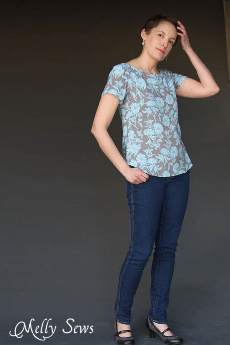 I want this! Shoreline Boatneck PDF Sewing Pattern by Blank Slate Patterns