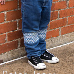 An Easier Way to Patch Jeans for Kids
