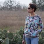 This shirt rocks - Daytripper shirt by Shwin Designs sewn by https://mellysews.com