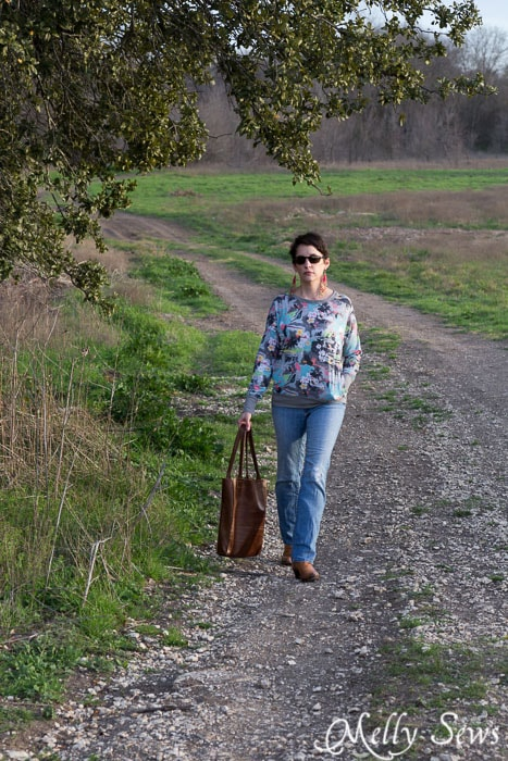 Comfy and casual - Daytripper shirt by Shwin Designs sewn by http://mellysews.com