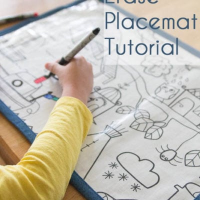 Home Sewn Series – Dry Erase Placemat Tutorial