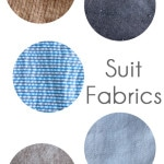 Best Fabrics for Suits and Blazers - http://mellysews.com