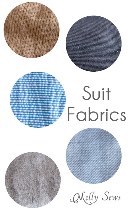 Best Fabrics for Suits and Blazers - https://mellysews.com