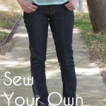 I Dream of Jeanie Big Reveal – I sew jeans for myself!