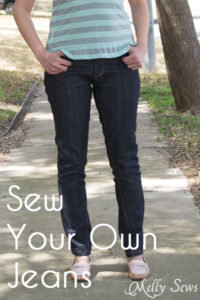 Sew Your Own Jeans - http://mellysews.com
