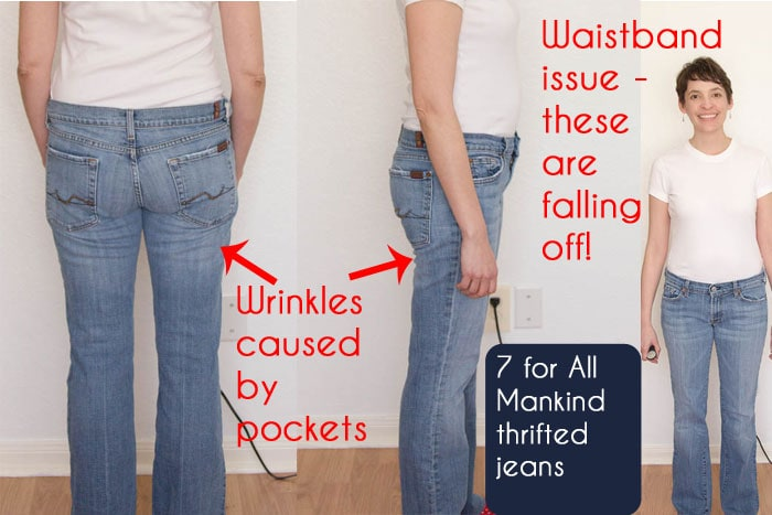 1eebde8c1b8a7 Jeans Fit Guide - Identifying Fit Issues - Melly Sews