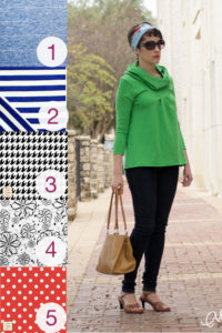 City Girl sewing pattern and fabric picks from Girl Charlee - by https://mellysews.com