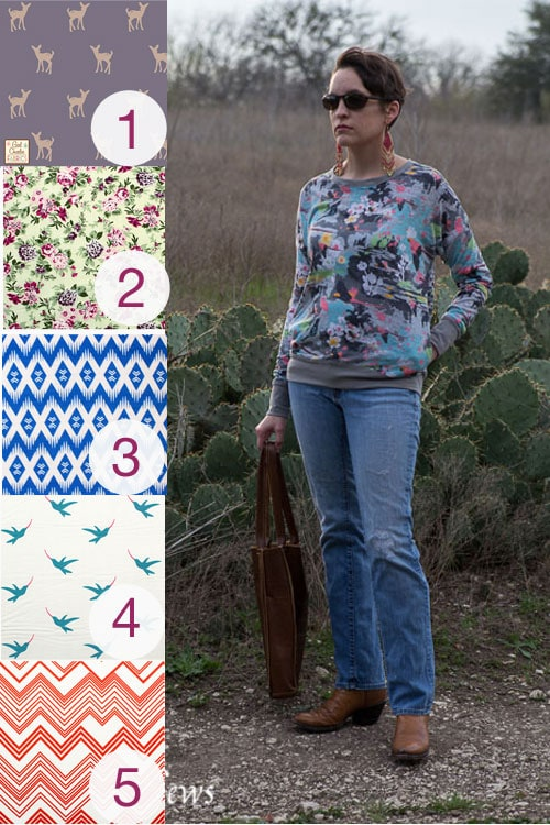 Daytripper sewing pattern and fabric picks from Girl Charlee - by https://mellysews.com