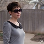 Peter pan collars are my favorite - Parisian top by GoTo Patterns sewn by https://mellysews.com