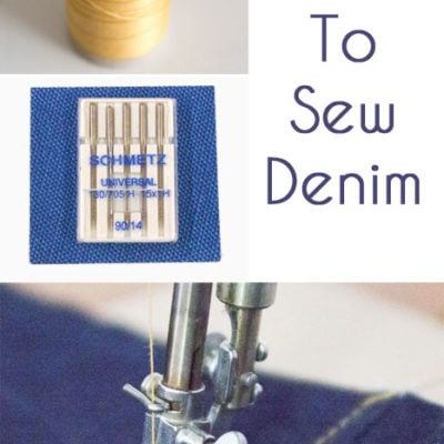 Tips to Sew Denim