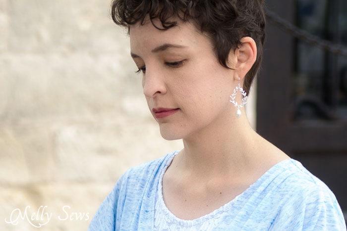 Earrings by Jacaranda Designs on Etsy