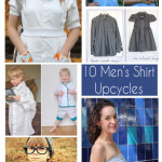 10 Men's Shirt Upcycle Tutorials - http://mellysews.com
