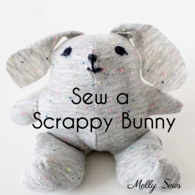 T-shirt Bunny Tutorial – With Free Pattern!