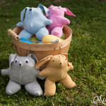 Cute Easter gift - T-shirt bunny tutorial with free pattern - http://mellysews.com