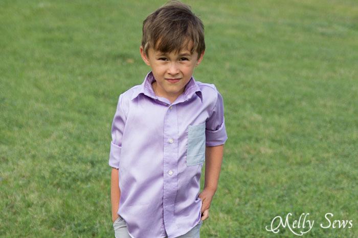 Styling kindergartner - http://mellysews.com