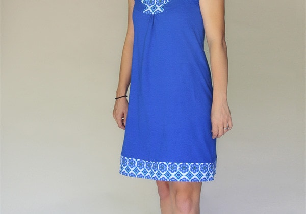 Rose Dress PDF Sewing Pattern for Women - http://blankslatepatterns.com
