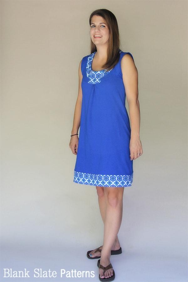 Rose Dress PDF Sewing Pattern for Women - http://blankslatepatterns.com