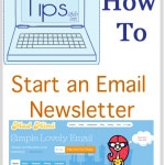 How to Start and Email Newsletter for your blog - Tech Tips with http://mellysews.com