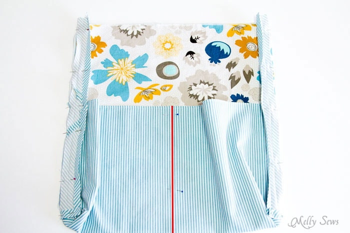 Step 10 - Ironing Board Cover and storage pocket - http://mellysews.com
