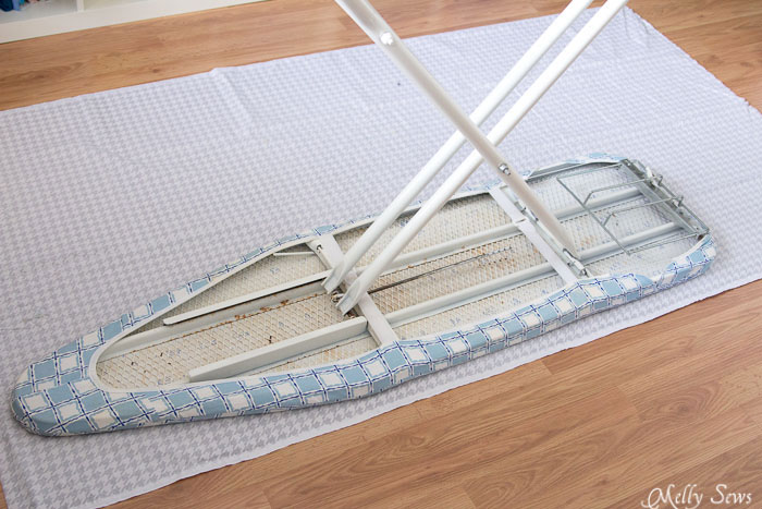 Step 1 - Ironing Board Cover and storage pocket - https://mellysews.com