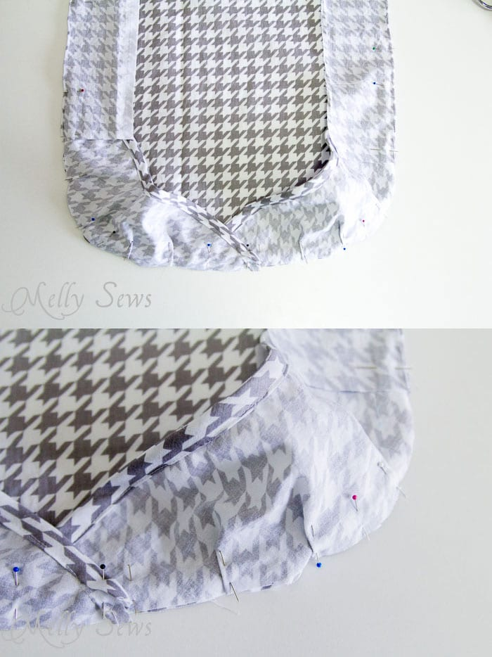 Step 5 -  Ironing Board Cover and storage pocket - http://mellysews.com