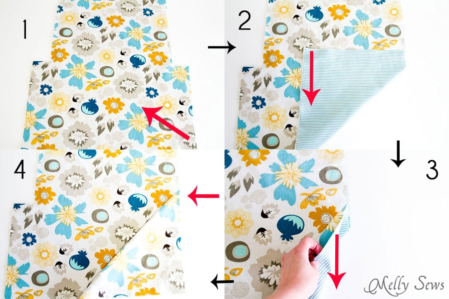 Step 8 - Ironing Board Cover and storage pocket - http://mellysews.com
