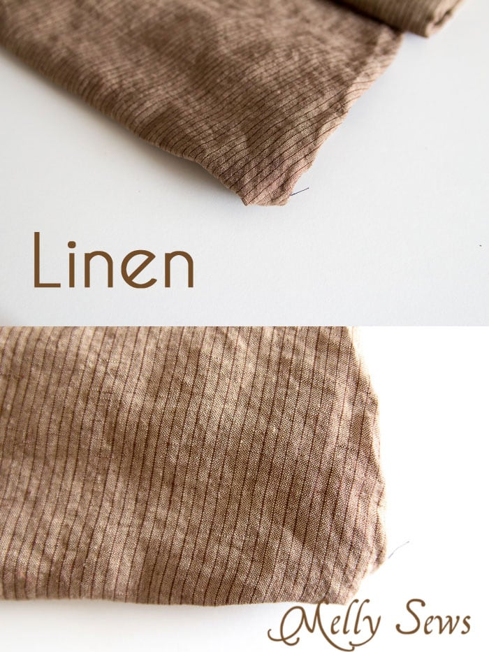 Linen Fabric - Suit Fabrics - https://mellysews.com