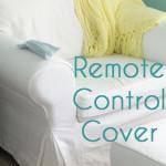 Sew a Remote Control Cover