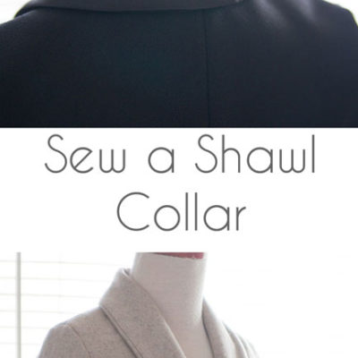 Berkshire Blazer Sewalong – How to Sew a Shawl Collar