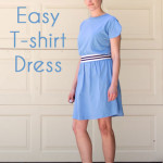Easy T-shirt Dress Tutorial