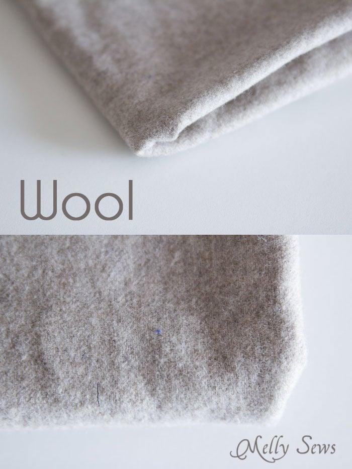 Wool - Suit Fabrics - http://mellysews.com