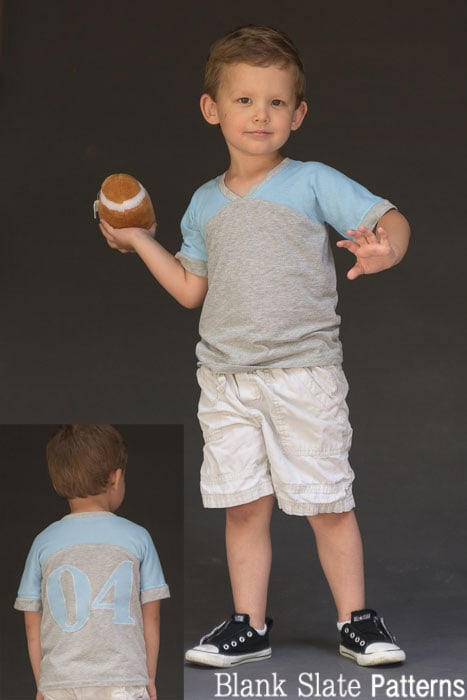 Just a Jersey Pattern - PDF Sewing Pattern for Boys and Girls by Blank Slate Patterns