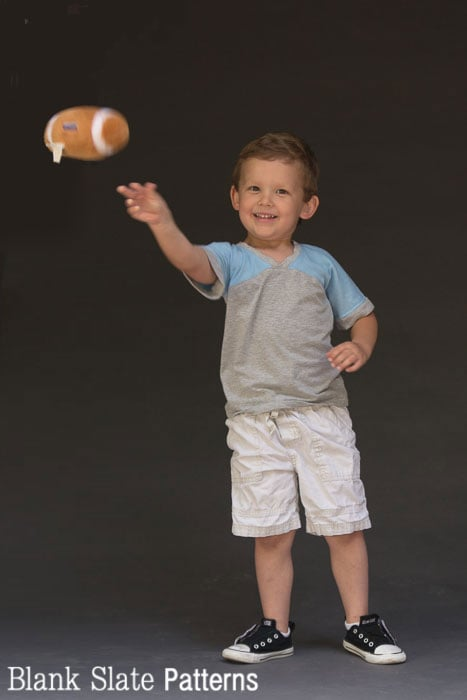 Catch! My boys love this Just a Jersey Pattern - PDF Sewing Pattern for Boys and Girls by Blank Slate Patterns