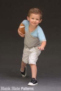 Heisman pose - Just a Jersey Pattern - PDF Sewing Pattern for Boys and Girls by Blank Slate Patterns