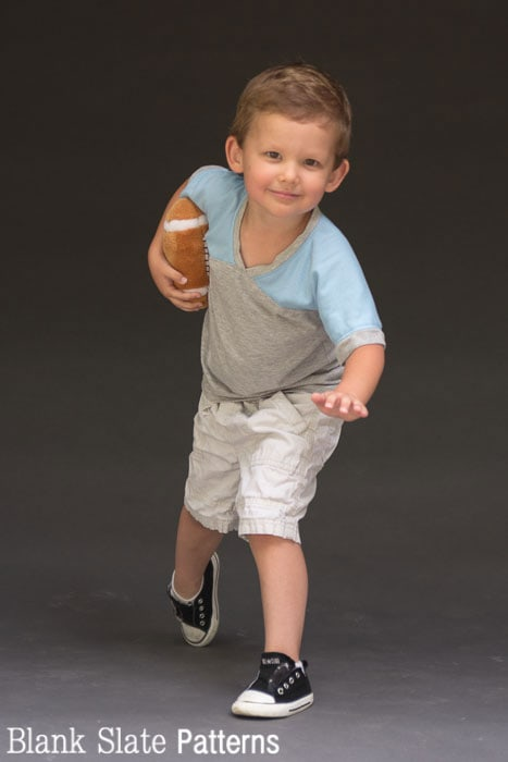 Heisman post - Just a Jersey Pattern - PDF Sewing Pattern for Boys and Girls by Blank Slate Patterns
