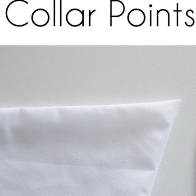 How to Sew Collar Points