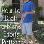 Draft a Mens Shorts Pattern