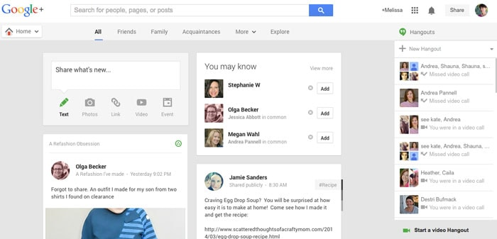 Google+ - How to Google Hangout - Tech Tips - http://mellysews.com