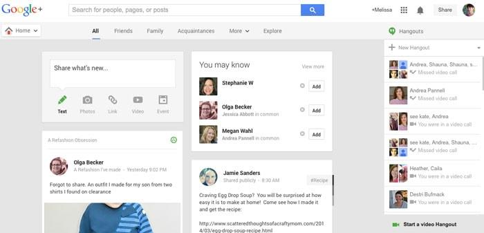 Google+ - How to Google Hangout - Tech Tips - https://mellysews.com