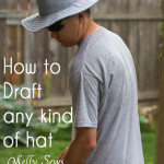 How to sew a hat - http://mellysews.com