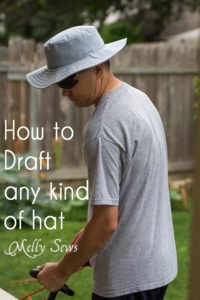 How to sew a hat - https://mellysews.com