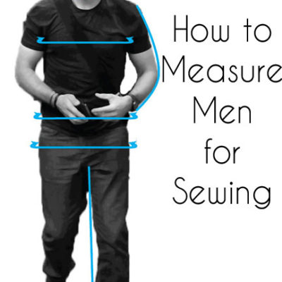 Taking Mens Measurements