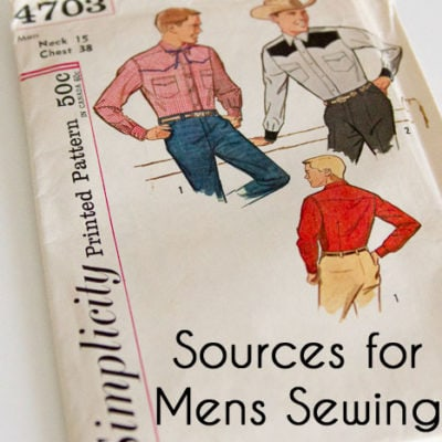 Men's Sewing Patterns