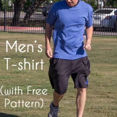 Mens T-shirt Pattern – Free Pattern!