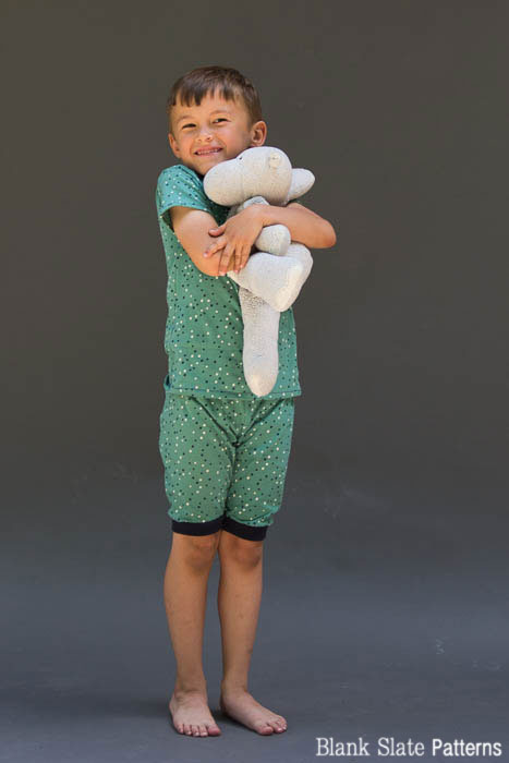 Great for summer - Sleepover Pajamas - PDF Sewing Pattern for Boys and Girls by Blank Slate Patterns