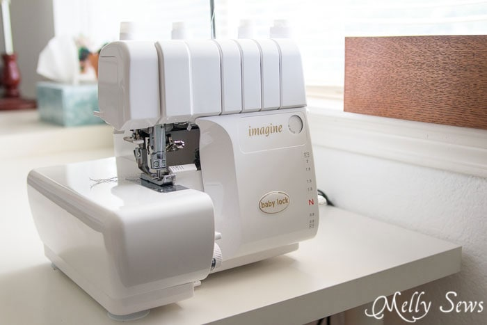 Baby Lock Imagine serger - mellysews.com