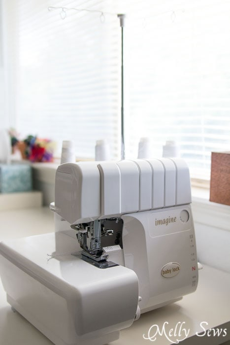 Babylock Imagine Serger - with jet air threading - mellysews.com