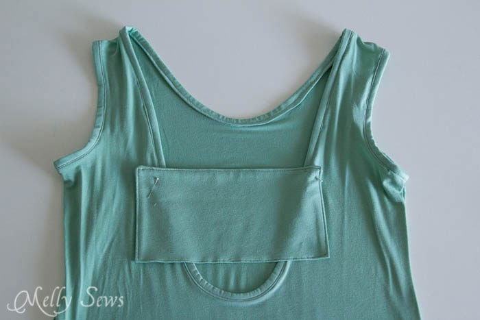 Step 7 - Bow Back Dress Tutorial - http://mellysews.com